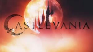 Il logo di Castlevania nella serie di Netflix