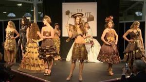 La sfilata del Chocolate Fashion Show di Londra 2015