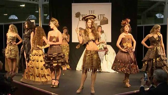 La sfilata del Chocolate Fashion Show di Londra 2015