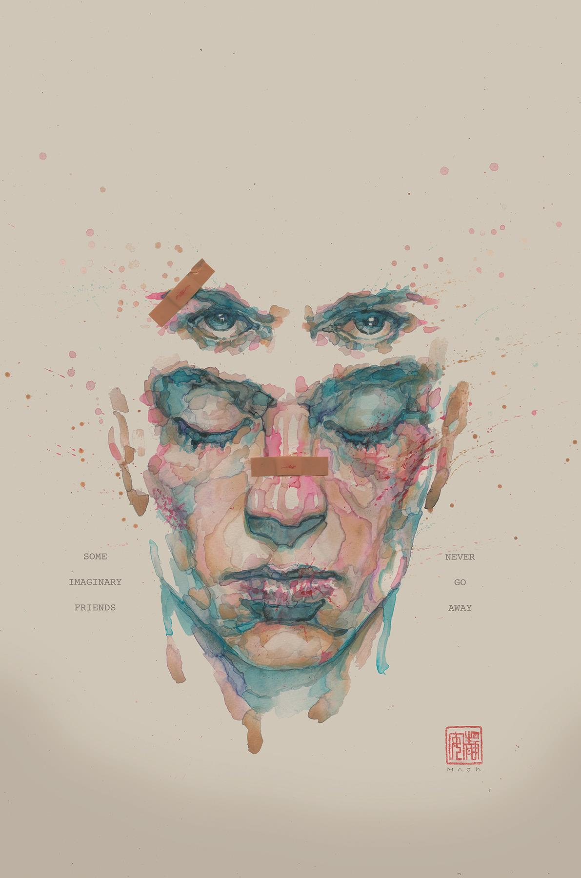 La copertinad i Fight Club 2 disegnata da David Mack