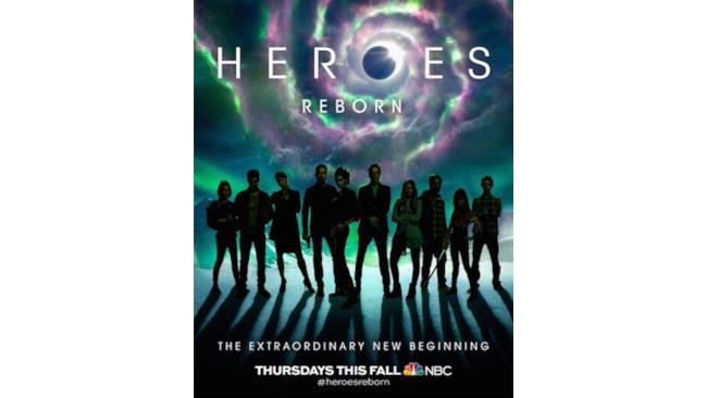 Il primo poster col cast di Heroes Reborn