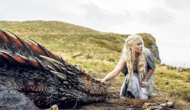 Danerys e Drogon