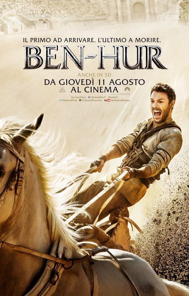La locandina del remake di Ben-Hur