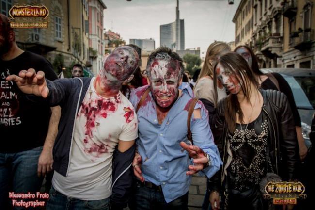 La Zombie Walk di Milano si ripete nel 2015 con una seconda edizione