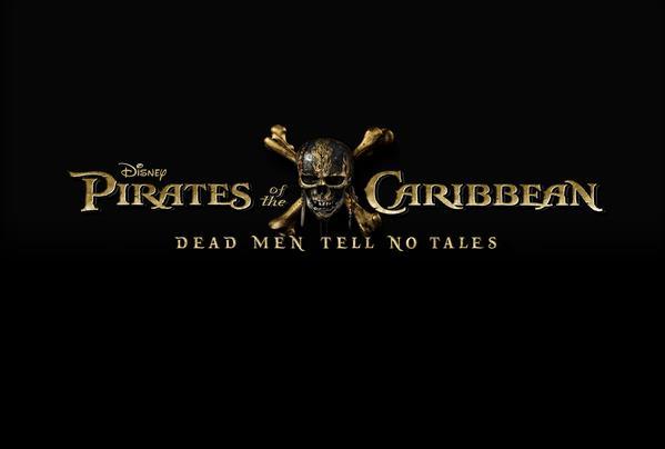 Il logo ufficiale di Pirati dei Caraibi 5: Dead Men Tell No Tales