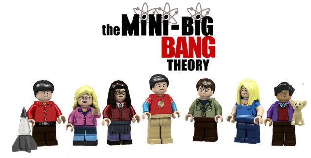 The Big Bang Theory set Lego