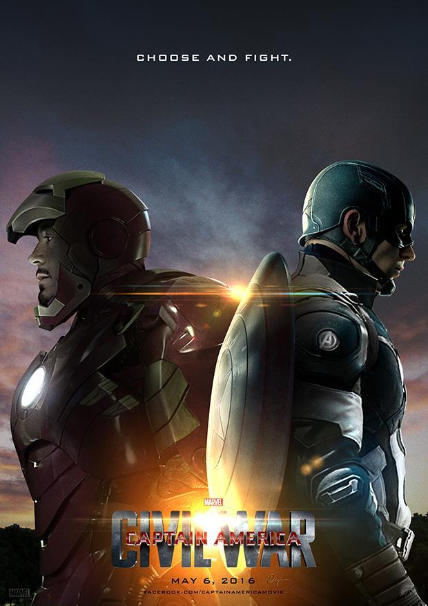 Capitan America: Civil War arriverà in Italia ad aprile 2016