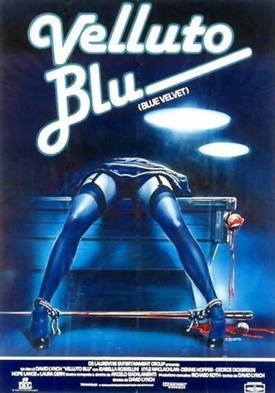 La locandina di Velluto blu
