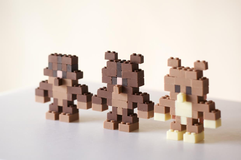 Costruzioni con Lego edibili