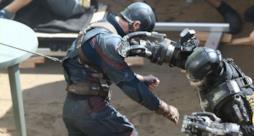 Capitan America contro Crossbones nelle nuove immagini di Civil War!