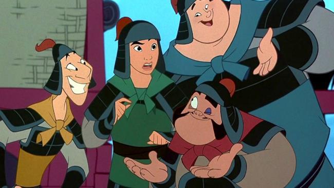 Una scena di Mulan (1998)