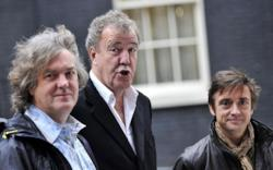I presentatori di Top Gear: James May, Jaremy Clarkson e Richard Hammond