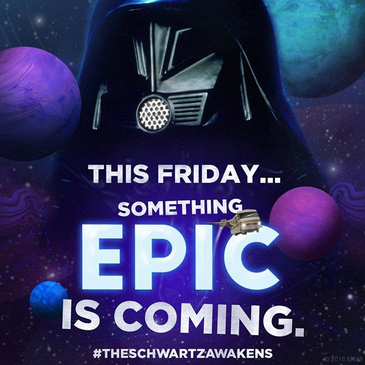 Immagine pubblicata sull'account Facebook di Spaceballs