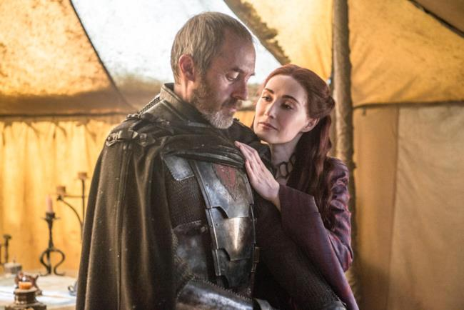 Stannis nell'ultimo episodio di Game of Thrones