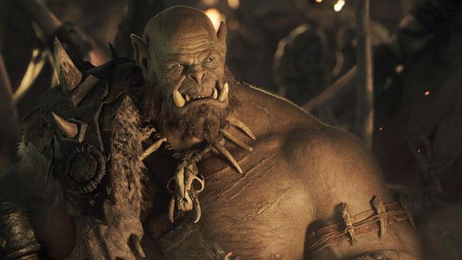 Ogrim Doomhammer nel film Warcraft