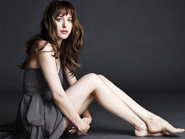 Dakota Johnson in Cinquanta Sfumature di Grigio