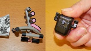 Accessori in miniatura per le dita delle mani
