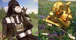 I personaggi di Star Wars si godono le vacanze al meglio