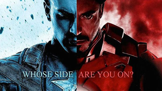 Capitan America: Civil War arriva nel 2016