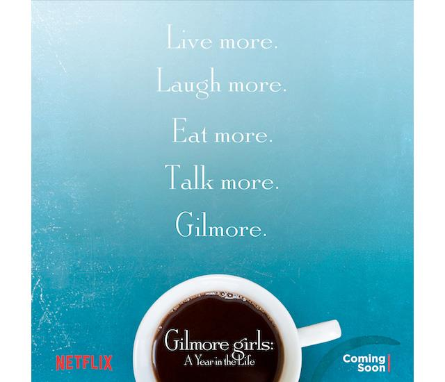 Il poster di Gilmore girls: A Year in the Life