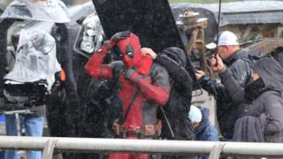 Deadpool, foto dal set cinematografico