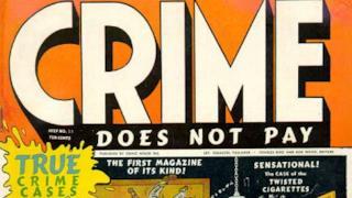 La copertina di uno dei Crime Comics