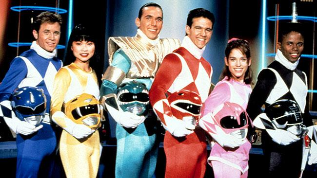 I Power Rangers nella serie originale
