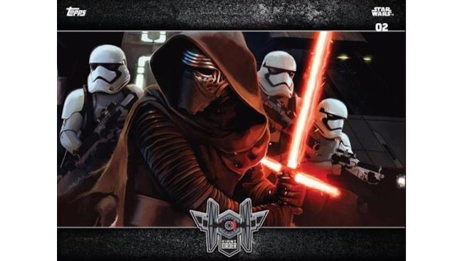 Kylo Ren pronto al combattimento in Star Wars 7