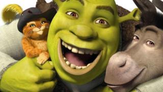Il gatto con gli stivali, Shrek e Ciuchino