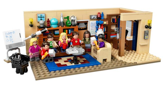 Il set LEGO di The Big Bang Theory sarà disponibile nell'estate 2015