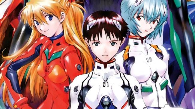 I protagonisti dell'anime di Evangelion