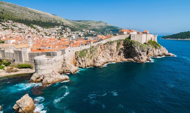 La città croata di Dubrovnik