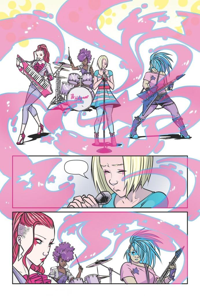 Immagine di preview dal fumetto di Jem e le Holograms