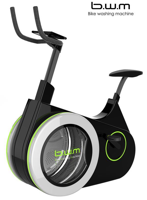 Bike washing machine è la cyclette-lavatrice che unisce fitness ed ecosostenibilità