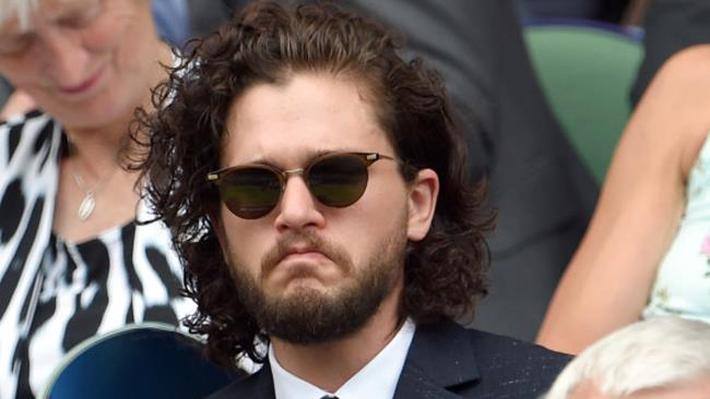 Kit Harington a Wimbledon