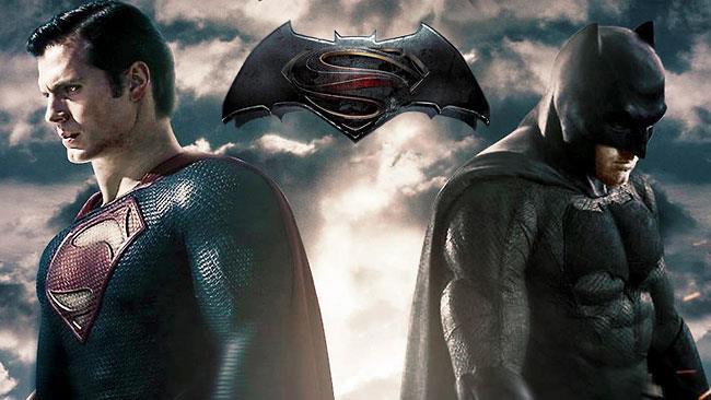 Batman e Superman in una fanart di Dawn of Justice
