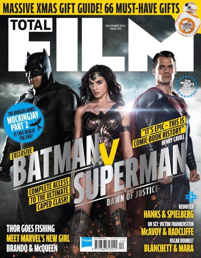 La trilogia DC conquista la cover di TOTAL FILM