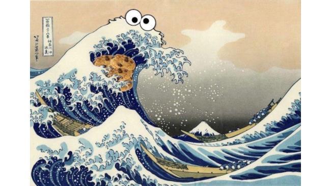 Cookie Monster è un'onda