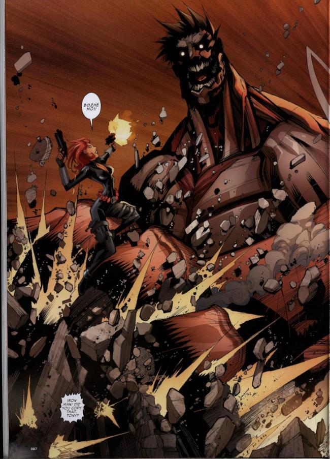 Attack on Avengers, pagina 5