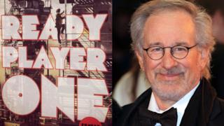 Steven Spielberg e la copertina di Ready Player One