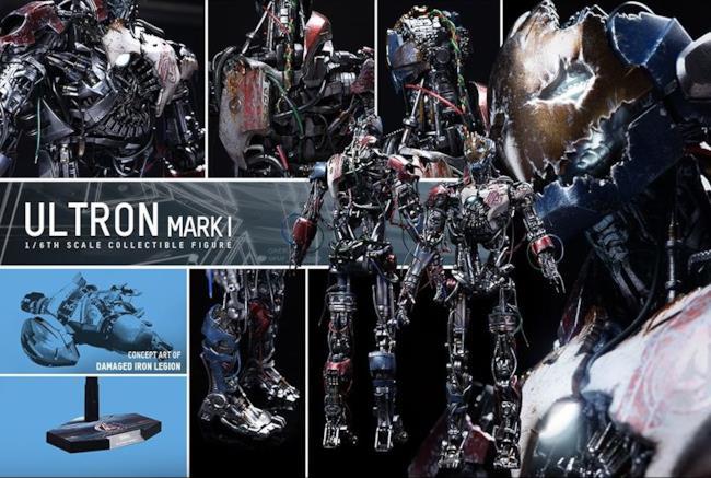Il modellino Ultron Mark I di Hot Toys