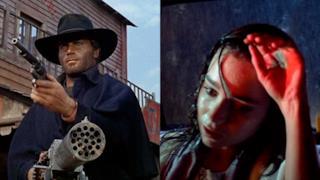 Inquadrature dai film Django e Suspiria