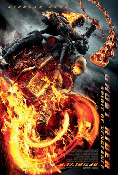 La locandina di Ghost Rider - Spirito di vendetta