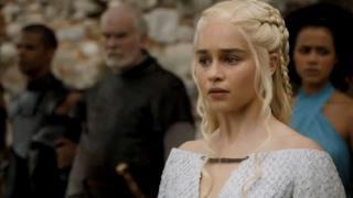 Daenerys in una scena del nuovo trailer di Game of Thrones