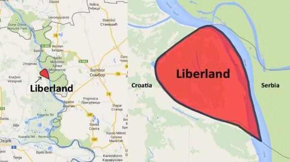 La nuova nazione Liberland tra Serbia e Croazia