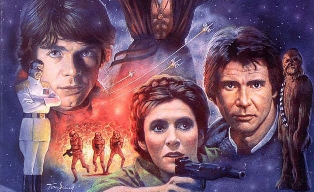 Star Wars: cover di uno dei libri