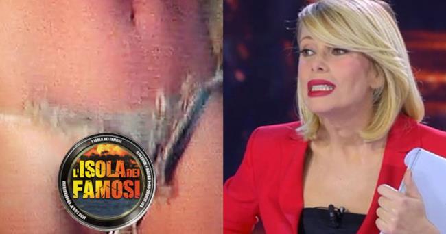 Alessia Marcuzzi e le parti intime di Cecilia Rodriguez