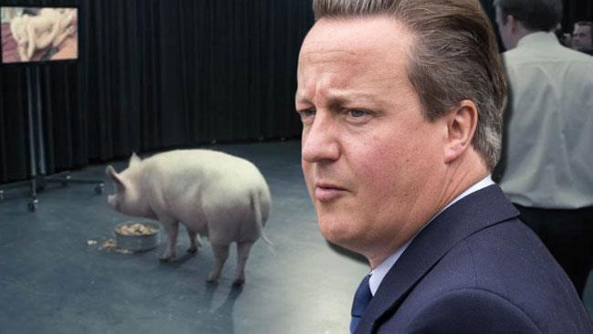 David Cameron e il maiale di Black Mirror