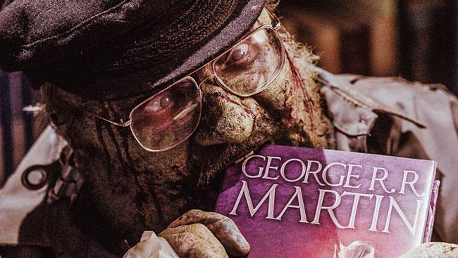 George Martin zombie in Z-Nation