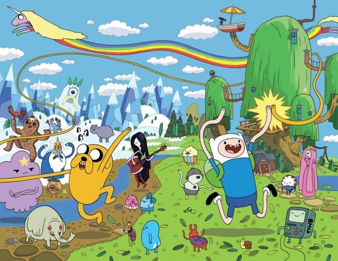 Immagine promozionale di Adventure Time
